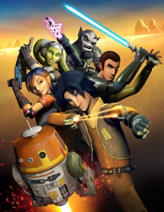 Poster of Star Wars Rebels