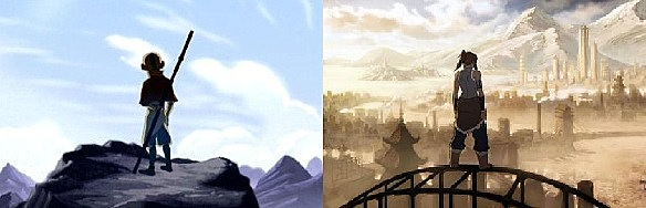 Avatar__Aang_and__Korra_by_kataanger102