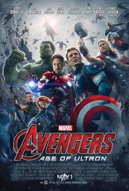 Official poster for The Avengers: Age Of Ultron