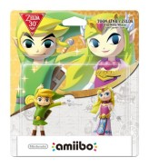 Toon Link and Zelda Amiibo