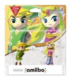 Toon Link and Zelda Amiibo