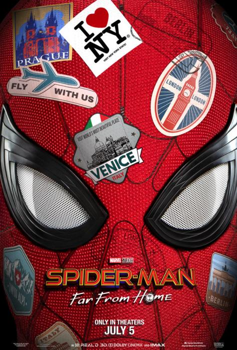 spider man far frome home teaser poster